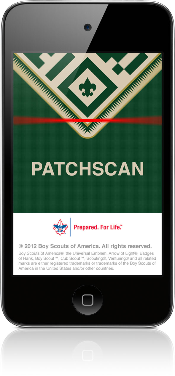 PatchScan on iPhone