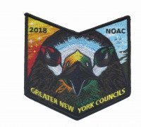 2018 NOAC Greater New York Council pocket patch Greater New York Councils