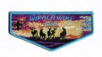 Wipala Wiki 432 sunset flap blue border Grand Canyon Council #10
