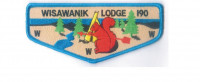 Wisawanik Lodge flap (85210) Arbuckle Area Council #468