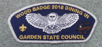 Garden State Council Woodbadge 2018 Dining In - Silver Border CSP Garden State Council #690
