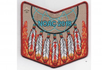 NOAC 2018 Pocket Patch (PO 87679) Buffalo Trail Council #567