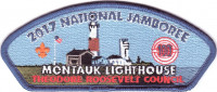 2017 National Jamboree - Theodore Roosevelt Council - Montauk Lighthouse Theodore Roosevelt Council #386