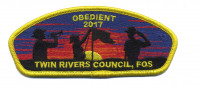 obedient 2017-trc csp fos yellow border Twin Rivers Council #364