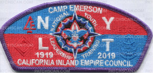 Patch Scan of Camp Emerson NYLT