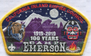 Patch Scan of California Inland Empire Council - Camp Emerson