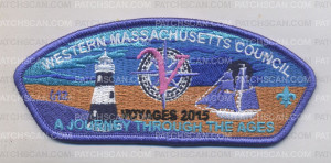 Patch Scan of Western Massachusetts Council - Numbered CSP