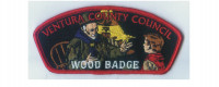 Ventura County Wood Badge CSP red border Ventura County Council #57