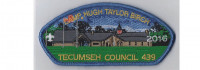 Camp Birch CSP 2016 (blue rayon) Tecumseh Council #439