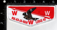 Northeast Illinois Council Ma-Ka-Ja-Wan Lodge 40 Whippoorwill 2019 Northeast Illinois Council #129