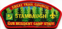 Great Trailk Council STAMBAUGH CSP Cub Resident Camp  Great Trails Council #243