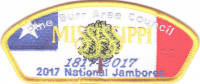 Pine Burr Area Council 2017 National Jamboree JSP KW1627 Pine Burr Area Council #304