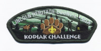LHC - Kodiak Challenge Green Border  Lincoln Heritage Council #205