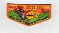 Japeechen Lodge Flap MS Jersey Shore Council #341