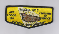 AKK NOAC 2015 MICHIGAN STATE Blue Ridge Council #551