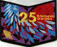 25th Anniversary Ut- In Selica - pocket patch Mount Diablo-Silverado Council #23