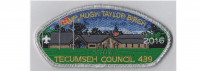 Camp Birch CSP 2016 (silver Mylar) Tecumseh Council #439