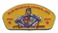 Blue Mountain Council- Little Did You Know- FOS gold metallic border Blue Mountain Council #604