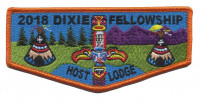 2018 Dixie Fellowship Flap Host Lodge Palmetto Area Council #549