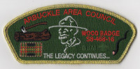 Wood Badge CSP Arbuckle Area Council #468