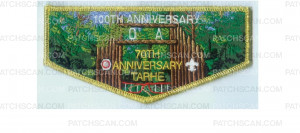 Patch Scan of Tarhe 70th Anniversary flap (84981 v-1)