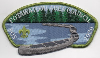 POTAWATOMI FRIENDS OF SCOUTING-GREEN Potawatomi Area Council #651