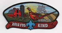 2018 FOS KIND Twin Valley Council #284