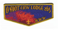 O-Shot-Caw Lodge 265 NOAC 2018 flap South Florida Council #84