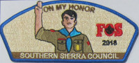 On My Honor CSP Southern Sierra Council  Southern Sierra Council #30
