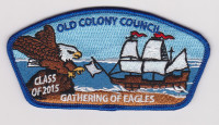 Gathering of Eagles 2015 Old Colony Council #249