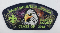 HMC Eagle Scout Class of 2018 Hawk Mountain Council #528