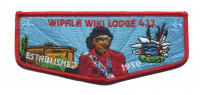 Wipala Wiki 432 Established 1950 flap Grand Canyon Council #10