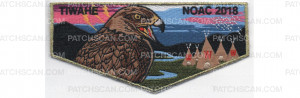 Patch Scan of 2018 NOAC Lodge Flap (PO 87933)