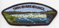 2013 JAMBOREE- TWIN RIVERS- RED BORDER #214164 Twin Rivers Council #364