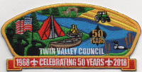 TWIN VALLEY COUNCIL 50 YEARS Twin Valley Council #284