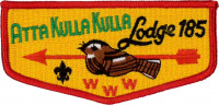 ATTA KULLA KULLA LODGE 185 Blue Ridge Council #551