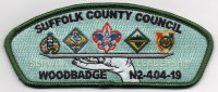 SCC 2019 WOOD BADGE CSP GREEN Suffolk County Council #404