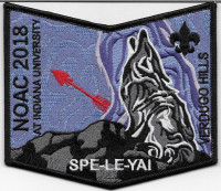 NOAC 2108 SPE-LE-YAI VHC POCKET PATCH  Verdugo Hills Council #58
