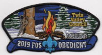 2019 FOS OBEDIENT TVC Twin Valley Council #284