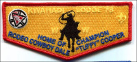 Home of Champion Rodeo Cowboy Conquistador Council #413
