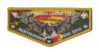Otyokwa Lodge 337 - Participant NOAC '18 (Pocket Flap) Chippewa Valley Council #637