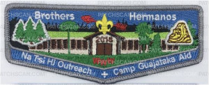 Patch Scan of Brothers Hermanos Flap