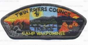 Patch Scan of Twin Rivers Council TREKS CSP