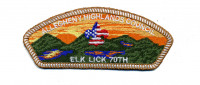 Allegheny Highlands Council Elk Lick 70th White Border Allegheny Highlands Council #382