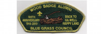 Wood Badge 100th Anniversary CSP (PO 88525) Blue Grass Council #204