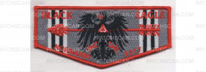 Patch Scan of Normandy Camporee Lodge Flap Red Border (PO 86762)
