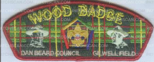 Patch Scan of WOOD BADGE DBC GILWELL FIELD