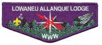 LOWANEU ALLANQUE LODGE 41 WWW PURPLE FLAP Three Fires Council #127