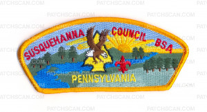 Patch Scan of Susquehanna Council Pennsylvania CSP