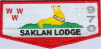 SAKLAN LODGE 970 NOAC 2018 FLAP  Silicon Valley Monterey Bay Council #55